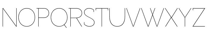 Adelaide-Regular Font UPPERCASE