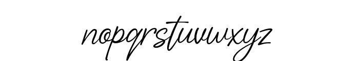Adelliya Script Font LOWERCASE
