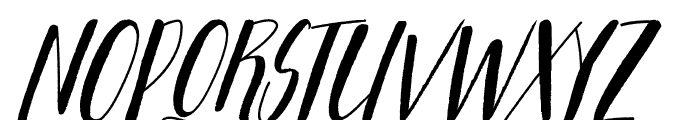 Adellove Font UPPERCASE