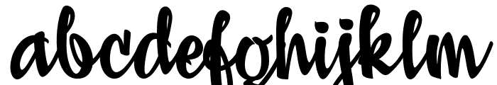 Adielle PERSONAL USE ONLY Font LOWERCASE
