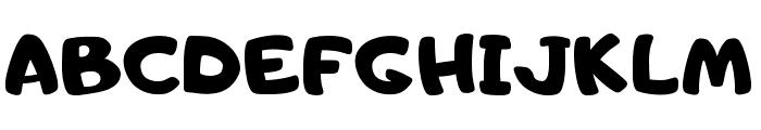 Adigiana Toybox Regular Font UPPERCASE