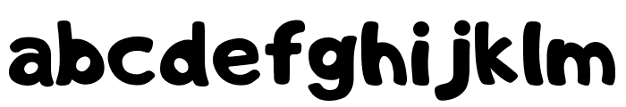 Adigiana Toybox Regular Font LOWERCASE