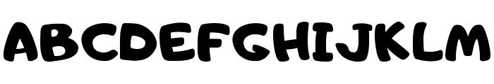 Adigiana UI Regular Font UPPERCASE