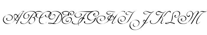 AdineKirnberg Regular Font UPPERCASE