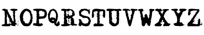 Adler Font UPPERCASE