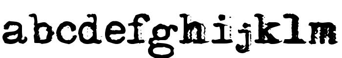 Adler Font LOWERCASE