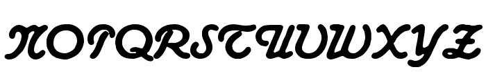 AdmiralCAT Font UPPERCASE