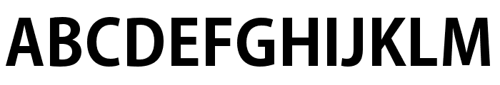 AdobeGothicStd-Bold Font UPPERCASE