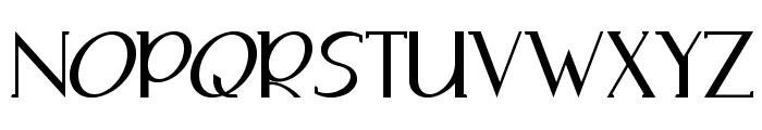Adolphus Serif Font UPPERCASE
