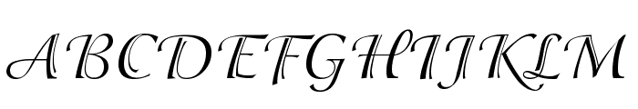 Adorable Font UPPERCASE