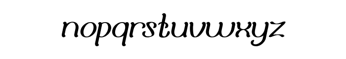 Adore You Font LOWERCASE