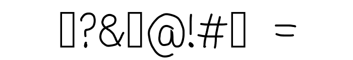 Adrian Font Font OTHER CHARS