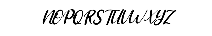 Adriana Italic Font UPPERCASE