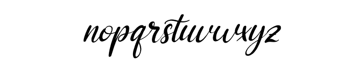 Adriana Italic Font LOWERCASE