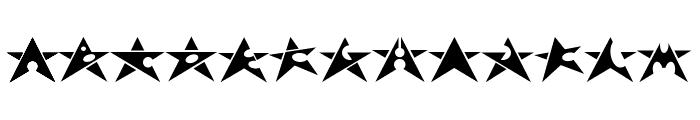 Adrianstars Font UPPERCASE