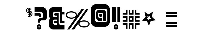 Adriator-Regular Font OTHER CHARS