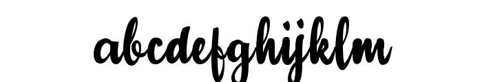 Adulsa Script Font LOWERCASE