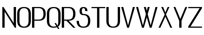 Advanced Sans Serif 7 Bold Font UPPERCASE
