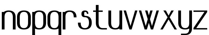 Advanced Sans Serif 7 Bold Font LOWERCASE