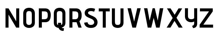 Advent Pro Bold Font UPPERCASE