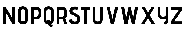 AdventPro-Bold Font UPPERCASE