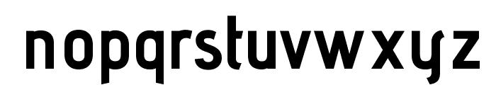 AdventPro-Bold Font LOWERCASE