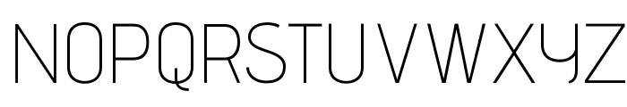 AdventPro-ExtraLight Font UPPERCASE