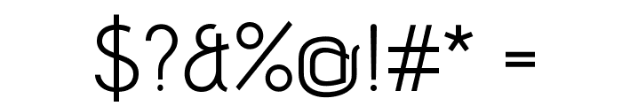 AdventPro-Regular Font OTHER CHARS