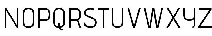 AdventPro-Regular Font UPPERCASE