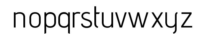 AdventPro-Regular Font LOWERCASE