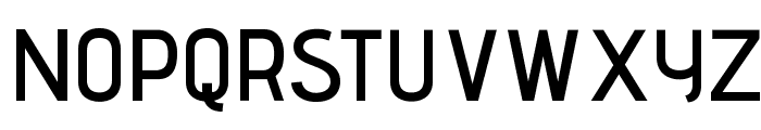 AdventPro-SemiBold Font UPPERCASE