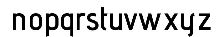 AdventPro-SemiBold Font LOWERCASE
