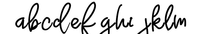 Adventure Dreamer Font LOWERCASE