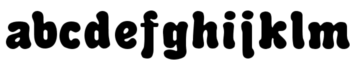 Advert Regular Font LOWERCASE