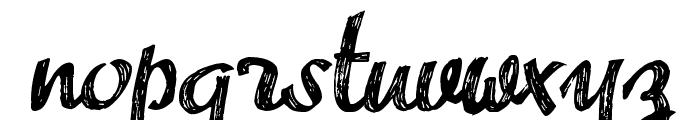 Advert Font LOWERCASE
