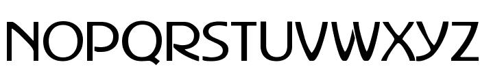 Advertiser Font UPPERCASE