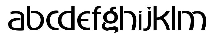 Advertiser Font LOWERCASE