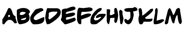 adam warren 0.2 Font LOWERCASE