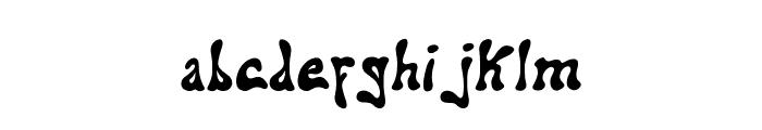 addiel Font LOWERCASE