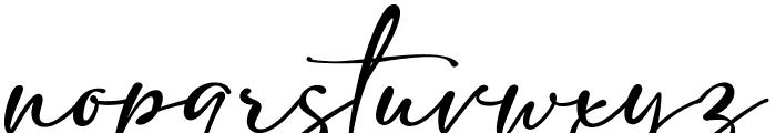 adelia 1 Font LOWERCASE