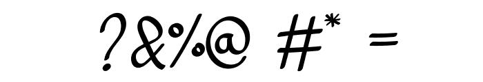 adelitha demo Regular Font OTHER CHARS