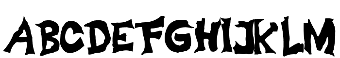 adolars fart Font UPPERCASE