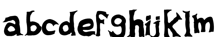 adolars fart Font LOWERCASE