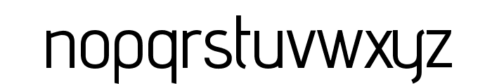 advent Bold Font LOWERCASE