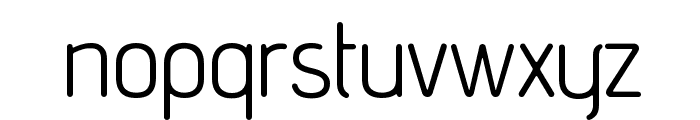 advent Rounded Font LOWERCASE