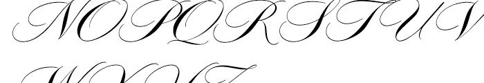 Adagio Regular Font UPPERCASE