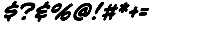 Adam Kubert Intl Bold Italic Font OTHER CHARS