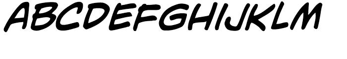 Adam Kubert Intl Italic Font LOWERCASE