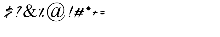 Adama Regular Font OTHER CHARS