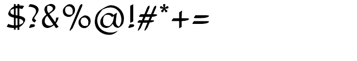 Adams Light Font OTHER CHARS